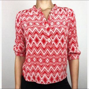 Parker popover  ikat blouse